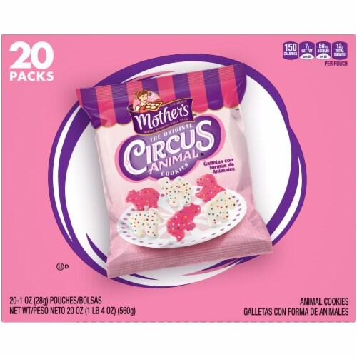 Mother's Original Circus Animal Cookies Perspective: back