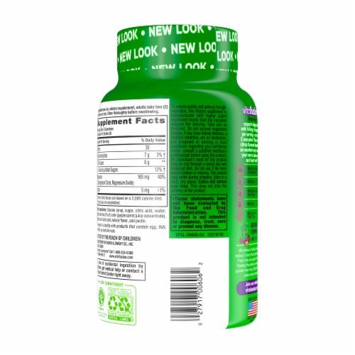 Vitafusion Magnesium Natural Tropical Citrus Flavor Adult Gummies 165mg Perspective: back