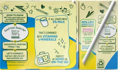 NIDO School Years Vanilla Milk  Beverage Perspective: back