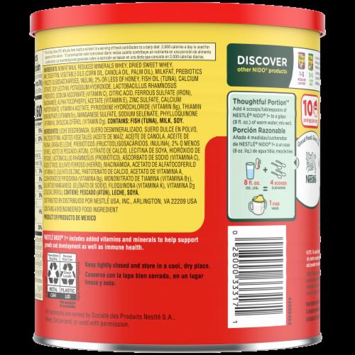 Nestle® NIDO® Kinder 1+ Toddler Milk Beverage Perspective: back