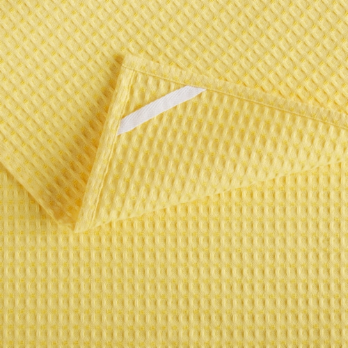 Martha Stewart Printed Lots of Lemons Kitchen Towels - 3 Pack - Yellow Perspective: back