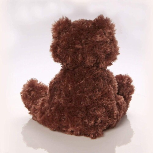 Philbin Teddy Bear 12-Inch Plush Toy | Chocolate Brown Perspective: back