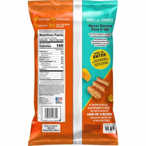 Sun Chips® Harvest Cheddar Whole Grain Snacks Perspective: back