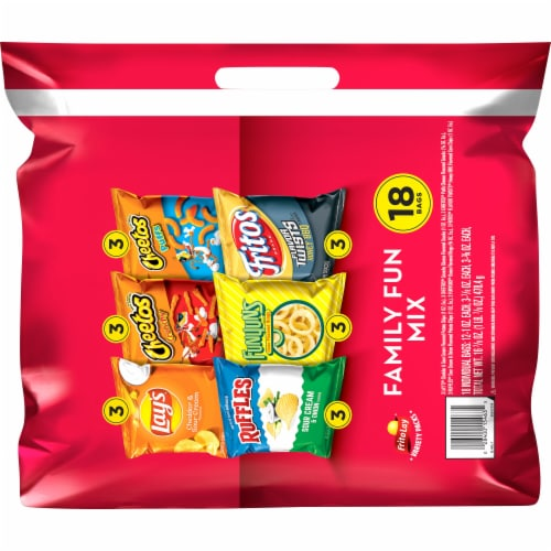 Frito-Lay Family Fun Snacks & Chips Mix Variety Pack Perspective: back