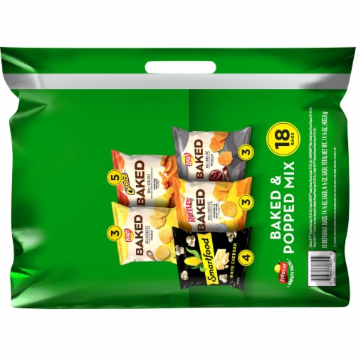 Frito-Lay® Baked & Popped Snacks & Chips Variety Pack Perspective: back