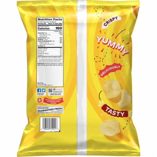 Lay's® Classic Potato Chips Perspective: back