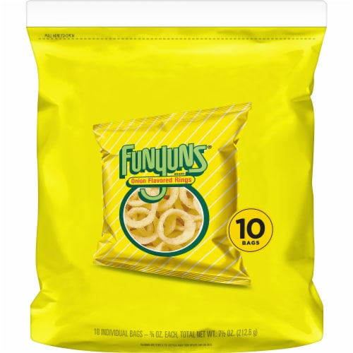 Funyuns® Onion Flavored Rings Perspective: back