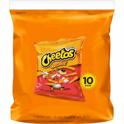 Cheetos® Crunchy Cheese Snacks Perspective: back