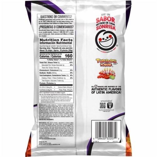 Sabritas Corn Chips Turbo Flamas Flavored Snacks Perspective: back