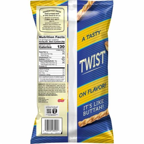 Rold Gold No 5 Savory Butter Pretzels Perspective: back