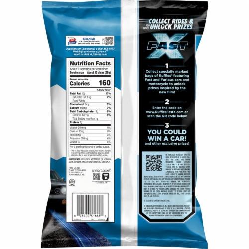 Ruffles® Original Potato Chips Perspective: back