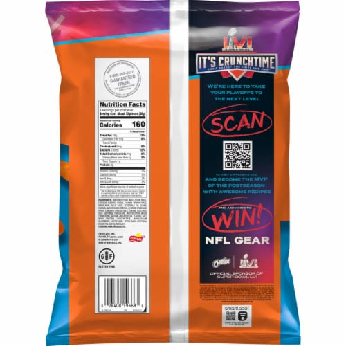 Cheetos Jumbo Puffs Cheese Snacks Perspective: back