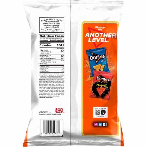 Doritos® Taco Flavor Tortilla Chips Perspective: back