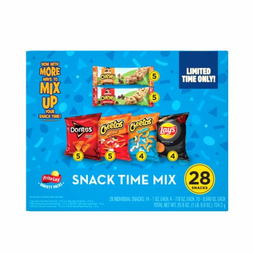 Frito-Lay Snack Time Mix Variety Pack Perspective: back