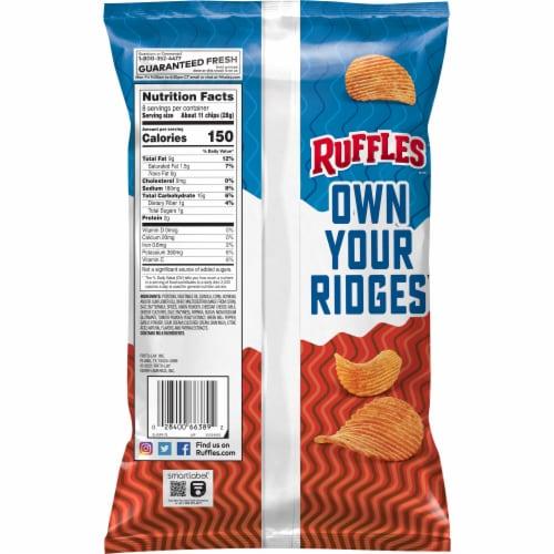Ruffles® Chili Cheese Potato Chips Perspective: back