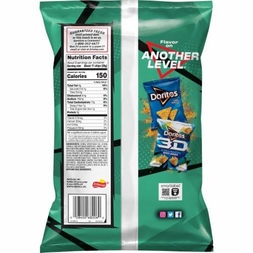 Doritos® Tangy Ranch Tortilla Chips Perspective: back