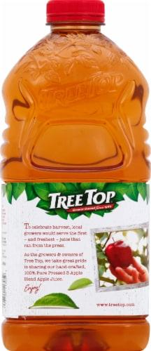 Tree Top Pure Pressed 3 Apple Blend 100% Apple Juice Perspective: back