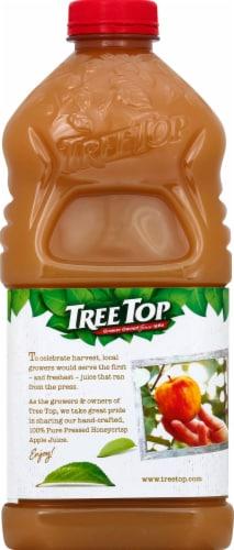 Tree Top Pure Pressed 100% Honeycrisp Apple Juice Perspective: back