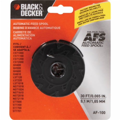 BLACK + DECKER Automatic Feed Spool Perspective: back