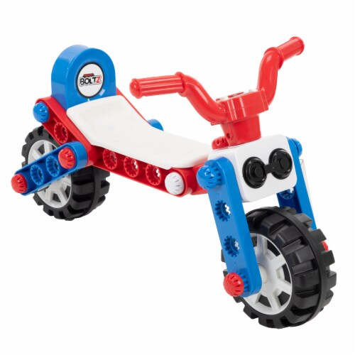 Huffy Boltz 3-in-1 Quad Powered Ride-On Trike Perspective: back