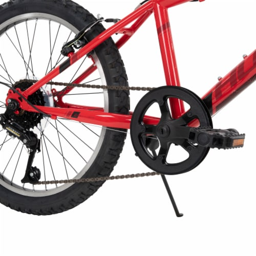 Huffy Boys' Granite Bicycle - Red/Black Perspective: back