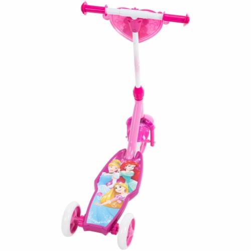 Huffy Disney Princess Electrolight 3-Wheel Scooter - Pink Perspective: back