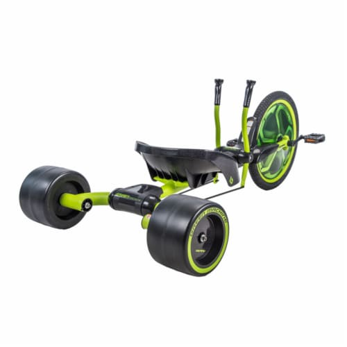 Huffy Green Machine Bike - Satin Lime/Black Perspective: back