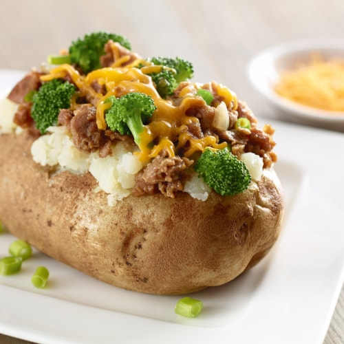Morningstar Farms Meal Starters Veggie Grillers Crumbles Perspective: back
