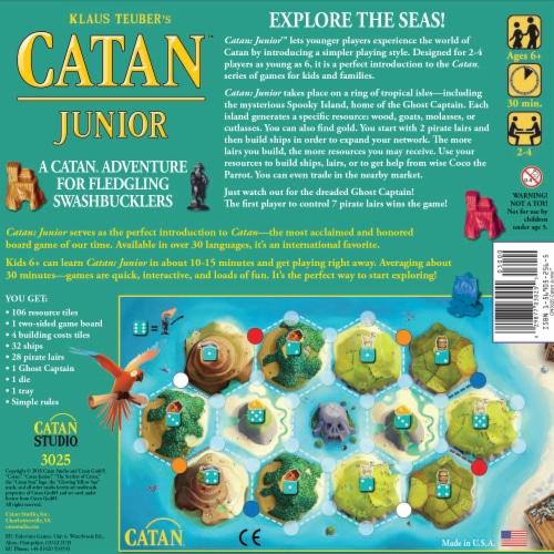 Mayfair Games Catan Junior Board Game Perspective: back