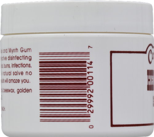 Country Comfort Herbal Savvy Golden Seal & Myrrh Gum Powder Ointment Perspective: back