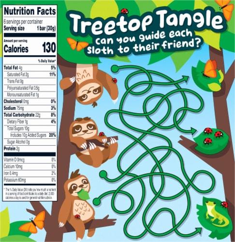 Quaker Chewy Dipps Sloth-Tastic Vanilla Cream Granola Bars Perspective: back