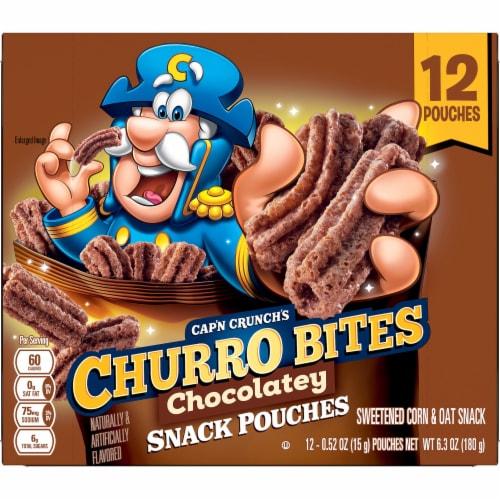 Cap'N Crunch's Chocolatey Churro Bites Perspective: back