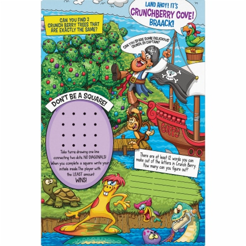 Cap'N Crunch's Crunch Berries® Corn & Oat Cereal Perspective: back