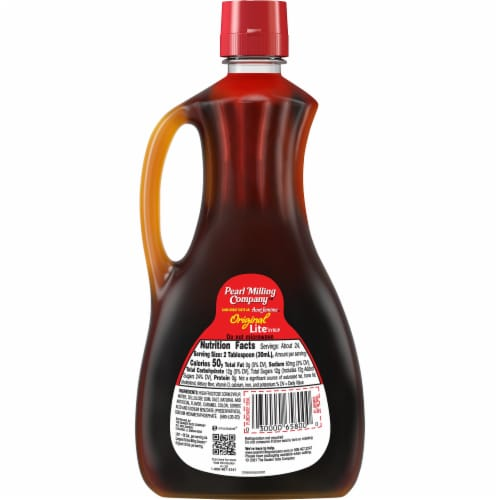 Pearl Milling Company™ Original Lite Syrup Perspective: back