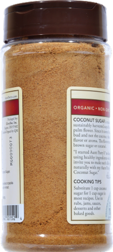 GloryBee Organic Coconut Sugar Perspective: back
