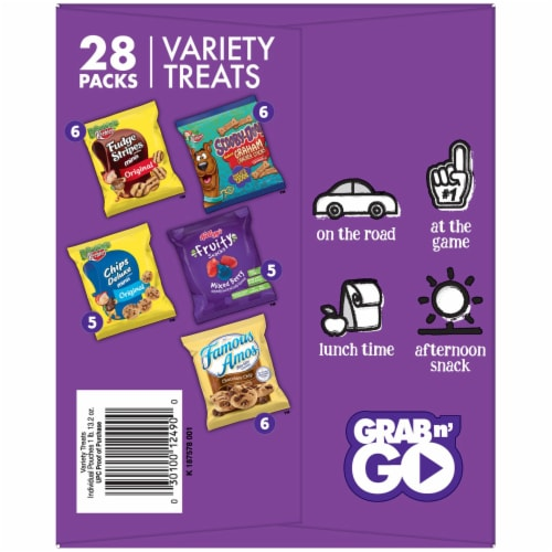 Keebler Variety Treats Pack Perspective: back