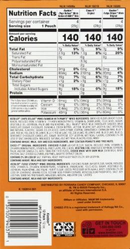 Keebler Sweet & Salty 3 Flavor Variety Pack Perspective: back