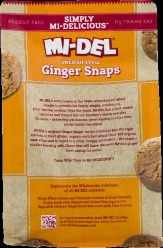 Mi-Del Ginger Snaps Perspective: back