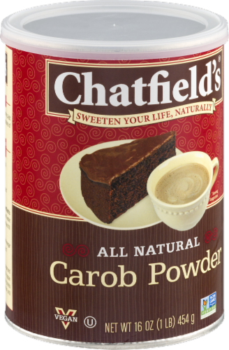 Chatfield's Carob Powder Perspective: back