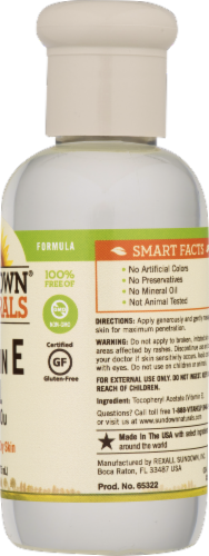 Sundown Naturals Vitamin E Oil 70000 IU Liquid Perspective: back