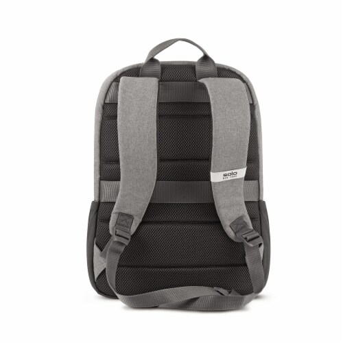 Solo Re:Cover Padded Backpack - Gray Perspective: back
