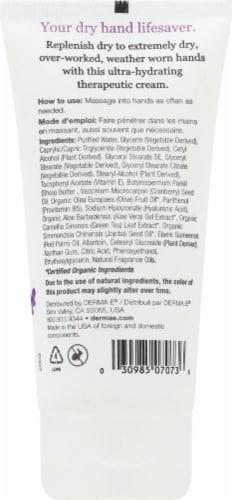 Derma-E Vitamin E Lavender & Neroli Therapeutic Moisture Shea Hand Cream Perspective: back