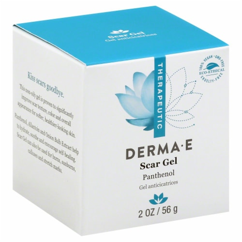 Derma-E Therapeutic Scar Gel Panthenol Perspective: back