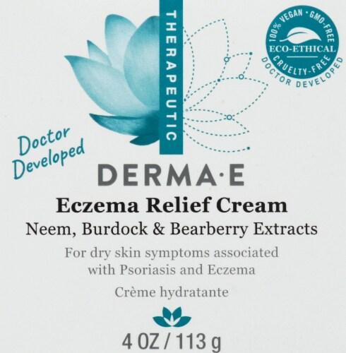 Derma-E Eczema Relief Cream Perspective: back