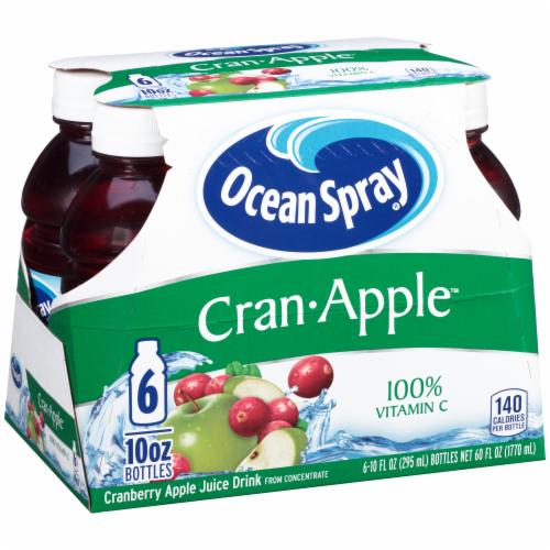 Ocean Spray Cran-Apple Juice Drink Perspective: back