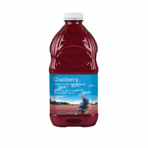 Ocean Spray Cran-Blackberry Juice Drink Perspective: back