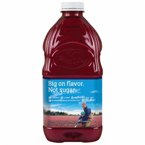 Ocean Spray Diet Cran-Blackberry Juice Drink Perspective: back