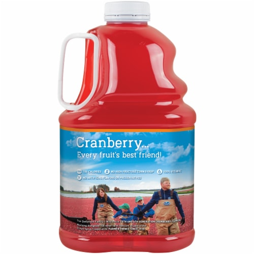 Ocean Spray Cran-Mango Juice Perspective: back