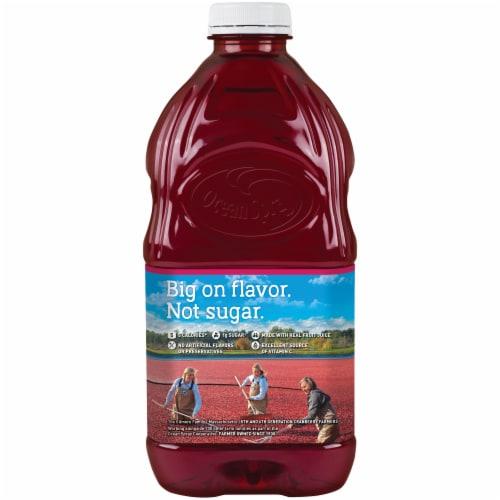 Ocean Spray Diet Cran-Raspberry Juice Drink Perspective: back