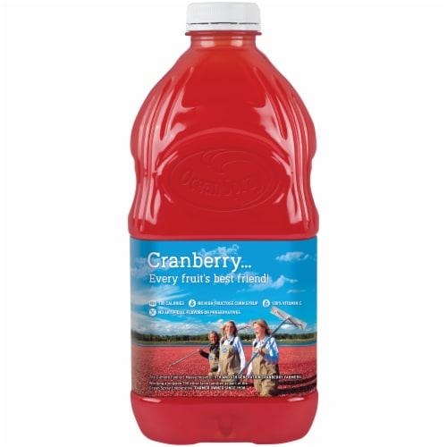 Ocean Spray Cran-Pineapple Juice Perspective: back